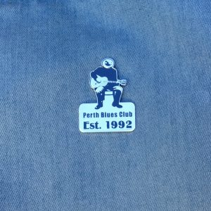 Perth Blues Club pin