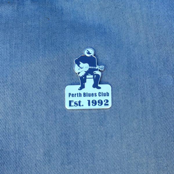Perth Blues Club pin