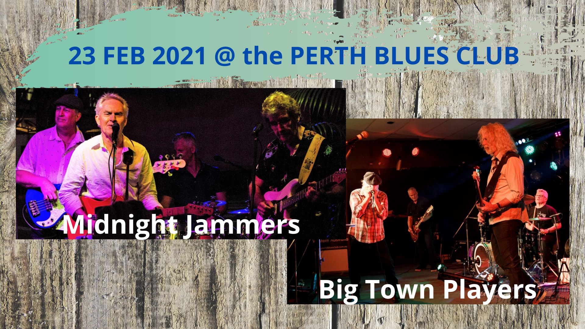 Midnight Jammers + Big Town Players